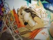 Граффити и лестница